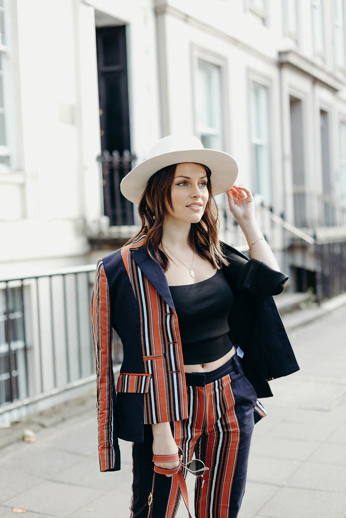 The Little Magpie French Connection Striped Suit