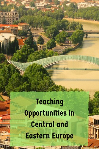 Teaching Opportunities in Central and Eastern Europe