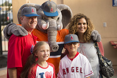 CSUF Night at Angel's Stadium