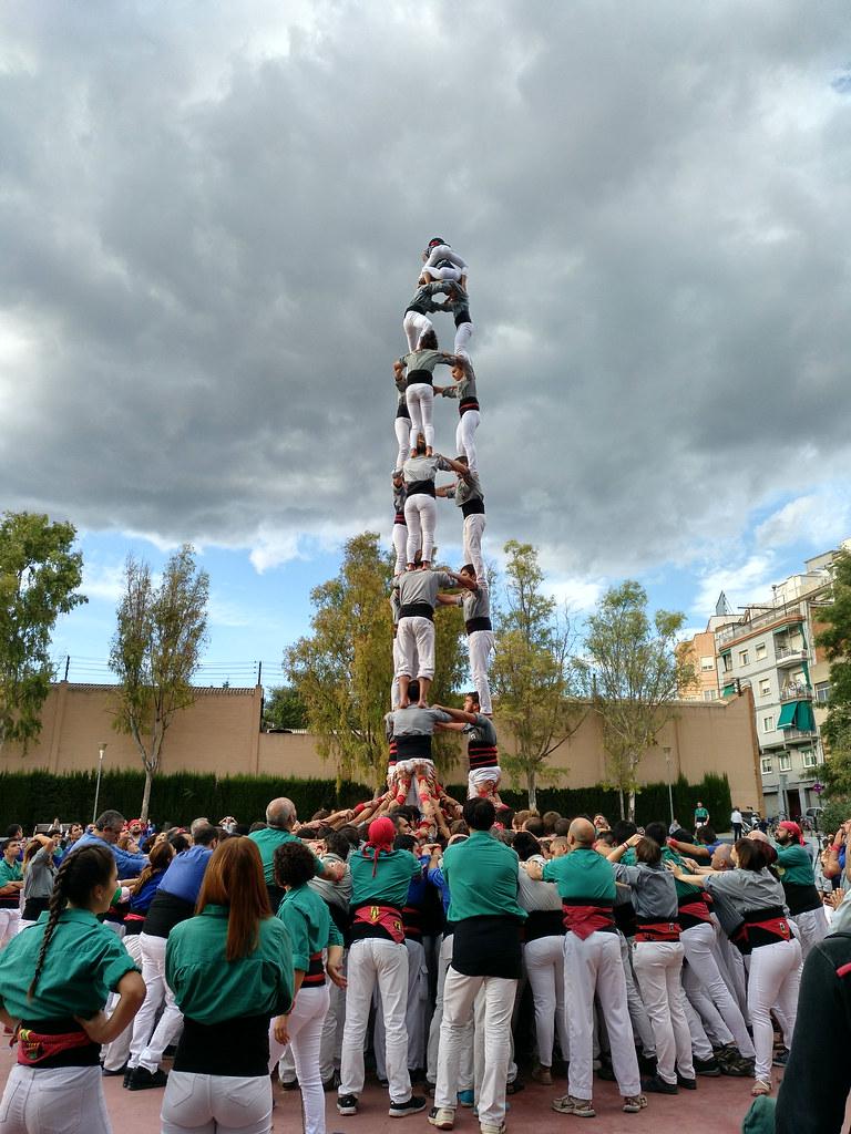 Diada dels Castellers d'Esplugues, Esplugues 16 de setembre de 2017