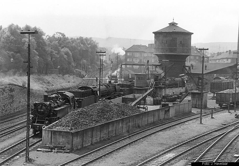 64 030, Bw Aachen Hbf, August 1960