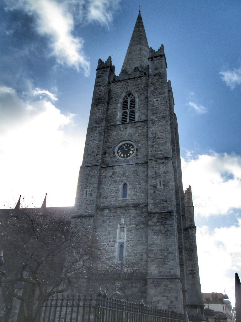 St Patricks Cathedral Dublin tower