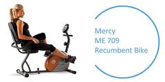 Best Recumbent Exercise Bike : Mercy-ME-709