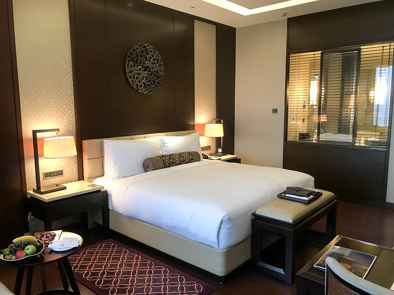 My room at the Fairmont Jakarta