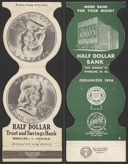 Matchbook: Half Dollar Trust and Savings Bank