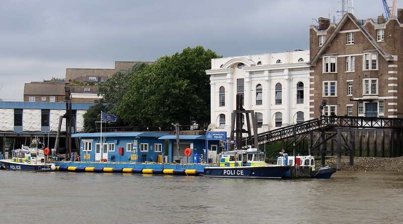 Police wharf, London