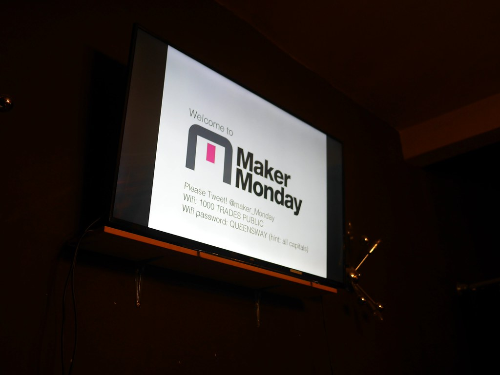 Maker Monday - 1