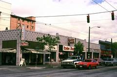 Broadway at Mercer, circa 1975