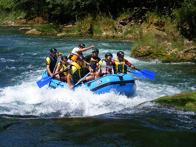 Take your first rafting experience with us