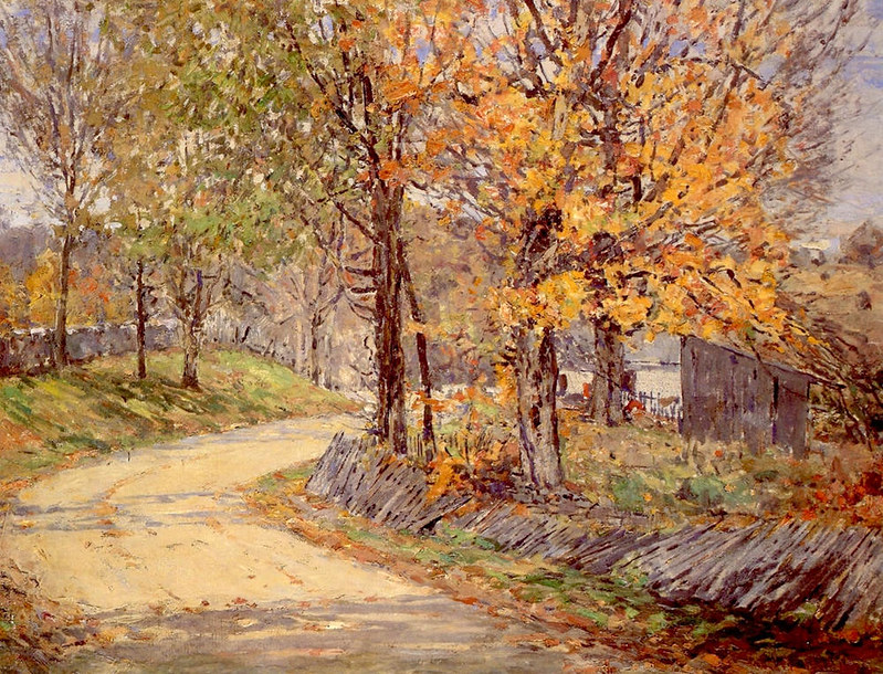 Autumn Roadside, Kentucky by William Forsyth, 1903