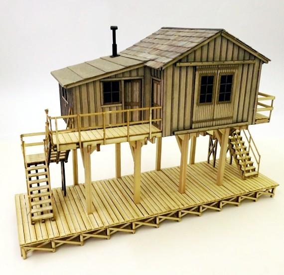 Kitwood Hill Models - 'O' Scale Kits - Kit Building - Model Railroad