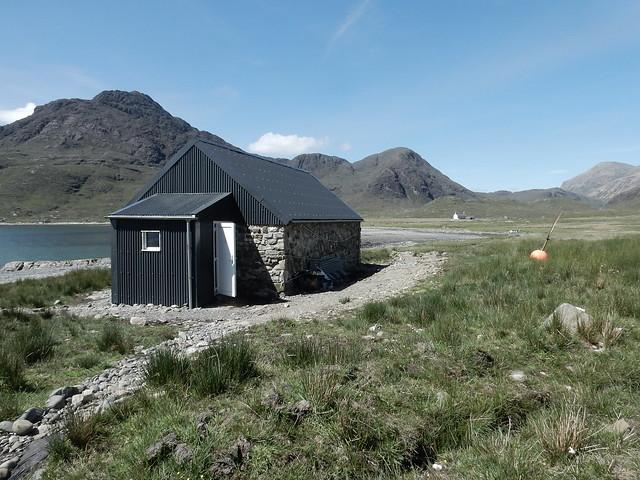 Camasunary Bothy on The Skye trail