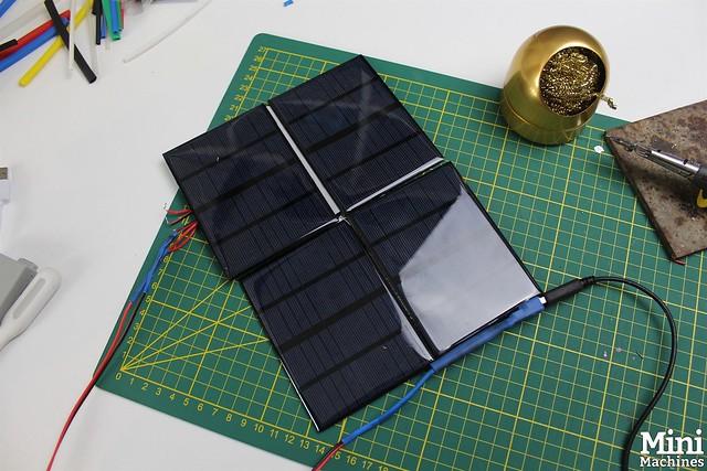 Construire un panneau solaire à 5€ - 073