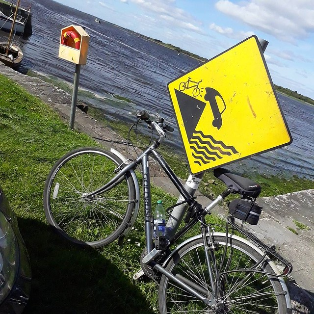 Back on the bike and back to Galway Bay! #travel #ireland #burnfatnotoil