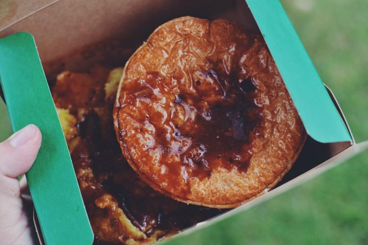 Higgidy Pie and Mash Food