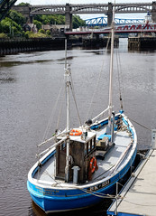 The Rachel Douglas, Newcastle Quayside; August 2017