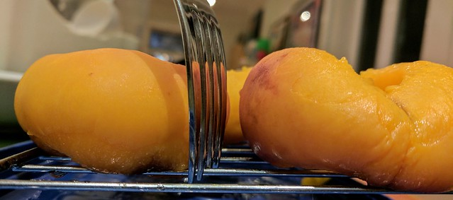 Macerated Donut Peaches