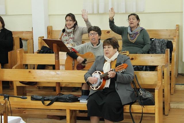 Cumpleaños pastora María de IMPCH Chiguayante