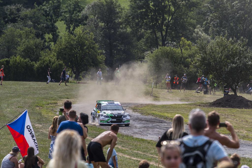 26 TARABUS Jaromir (CZE) MACHU Petr (CZE) Skoda Fabia S2000 action during the 2017 European Rally Championship ERC Barum rally,  from August 25 to 27, at Zlin, Czech Republic - Photo Gregory Lenormand / DPPI