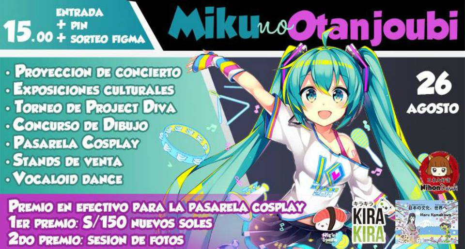 Miku no Otanjoubi | Homenaje a los 10 años de la diva virtual