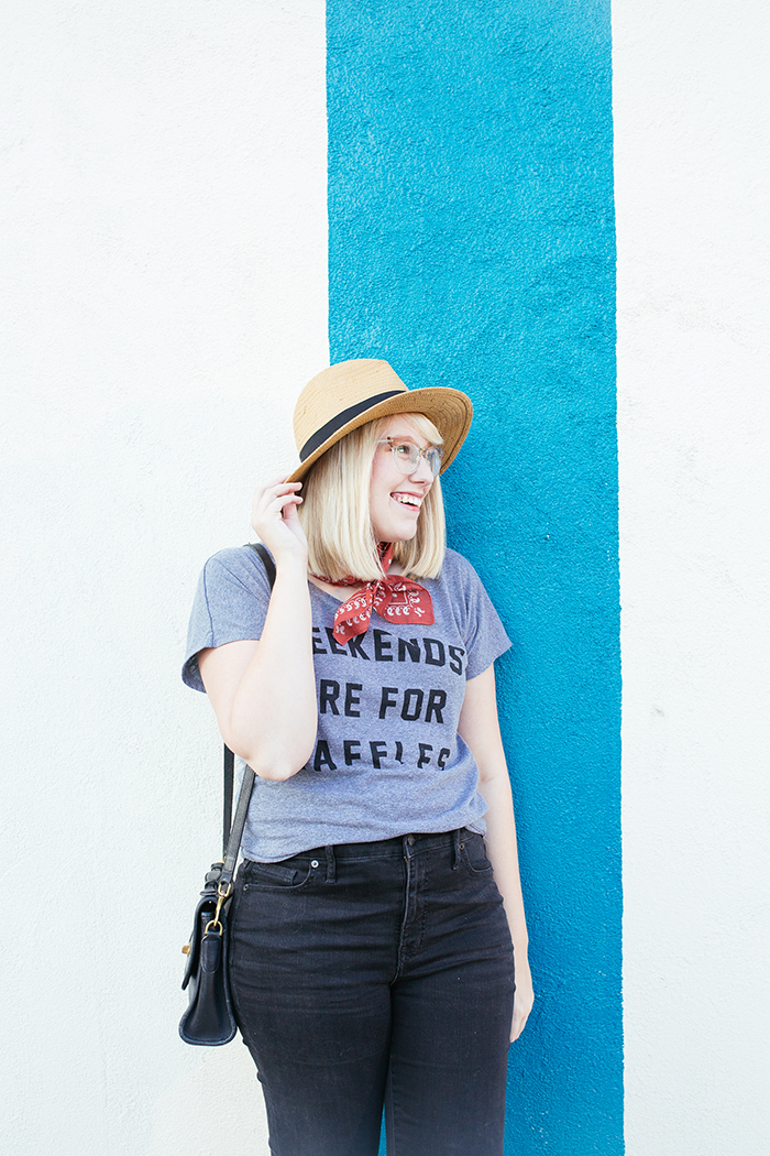 austin fashion blogger writes like a girl weekends are for waffles shirt11