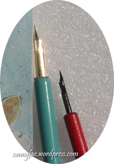 dip pen nibs