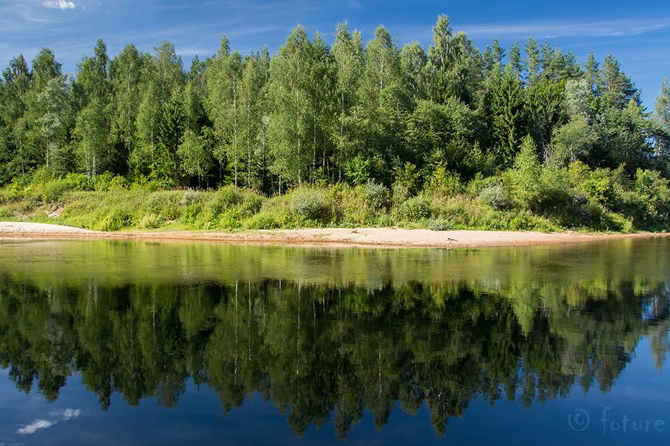 Gauja, Koiva, jõgi, river, Latvia, Kaido Rummel