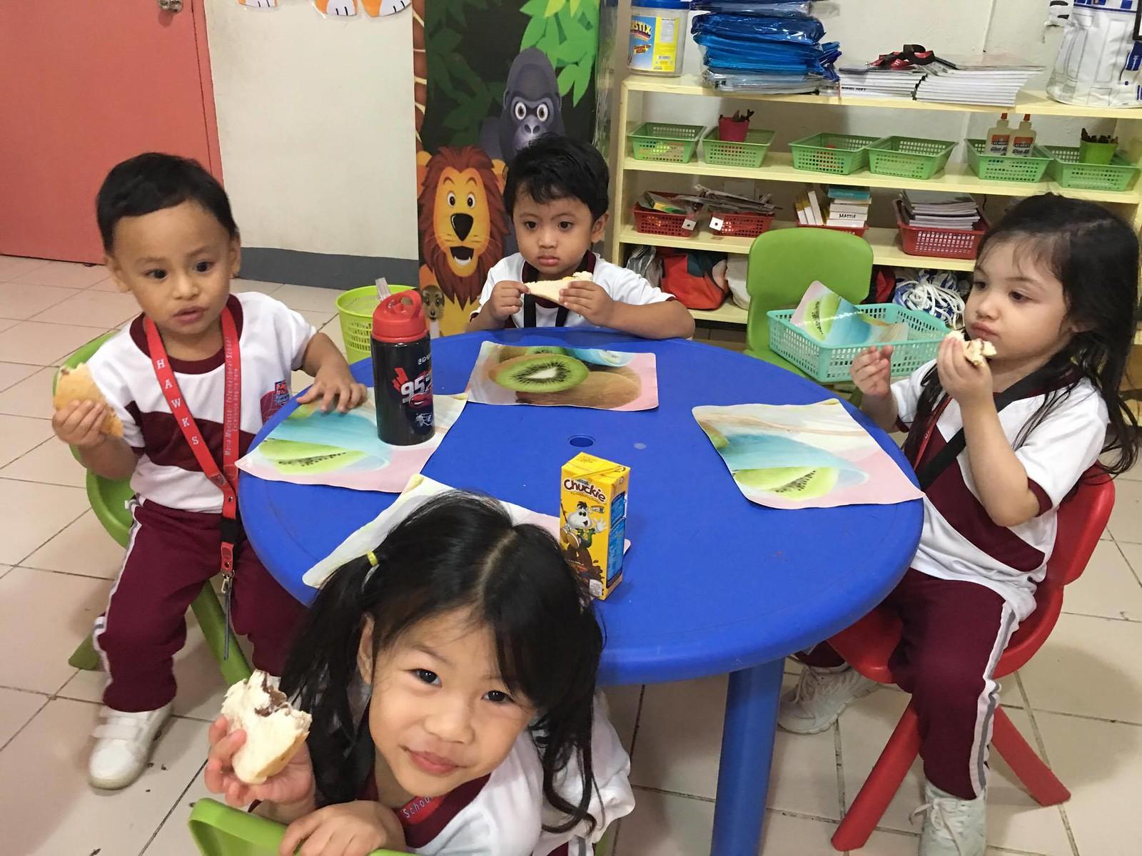 2017 Gorordo - Sandwich Making for Nursery and Pre-Kinder pupils