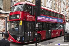 Wrightbus NRM NBFL - LTZ 1179 - LT179 - Victoria 38 - Arriva - London 2017 - Steven Gray - IMG_1081
