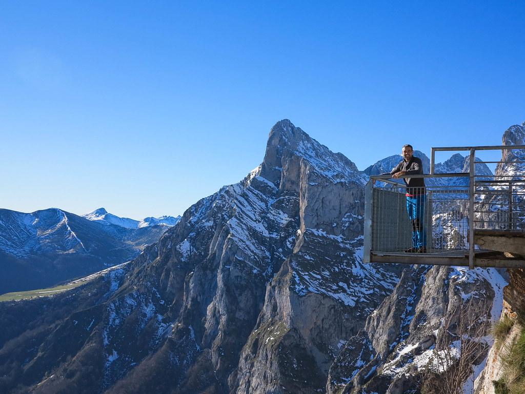 Mirador a los Picos de Europa