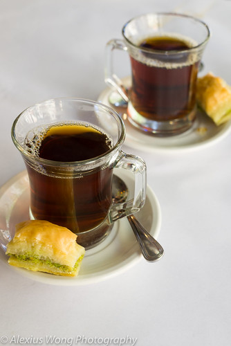 Turkish Tea and Baklava, Cazbar, MD