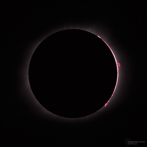Chromosphere & Prominences, Eclipse 2017