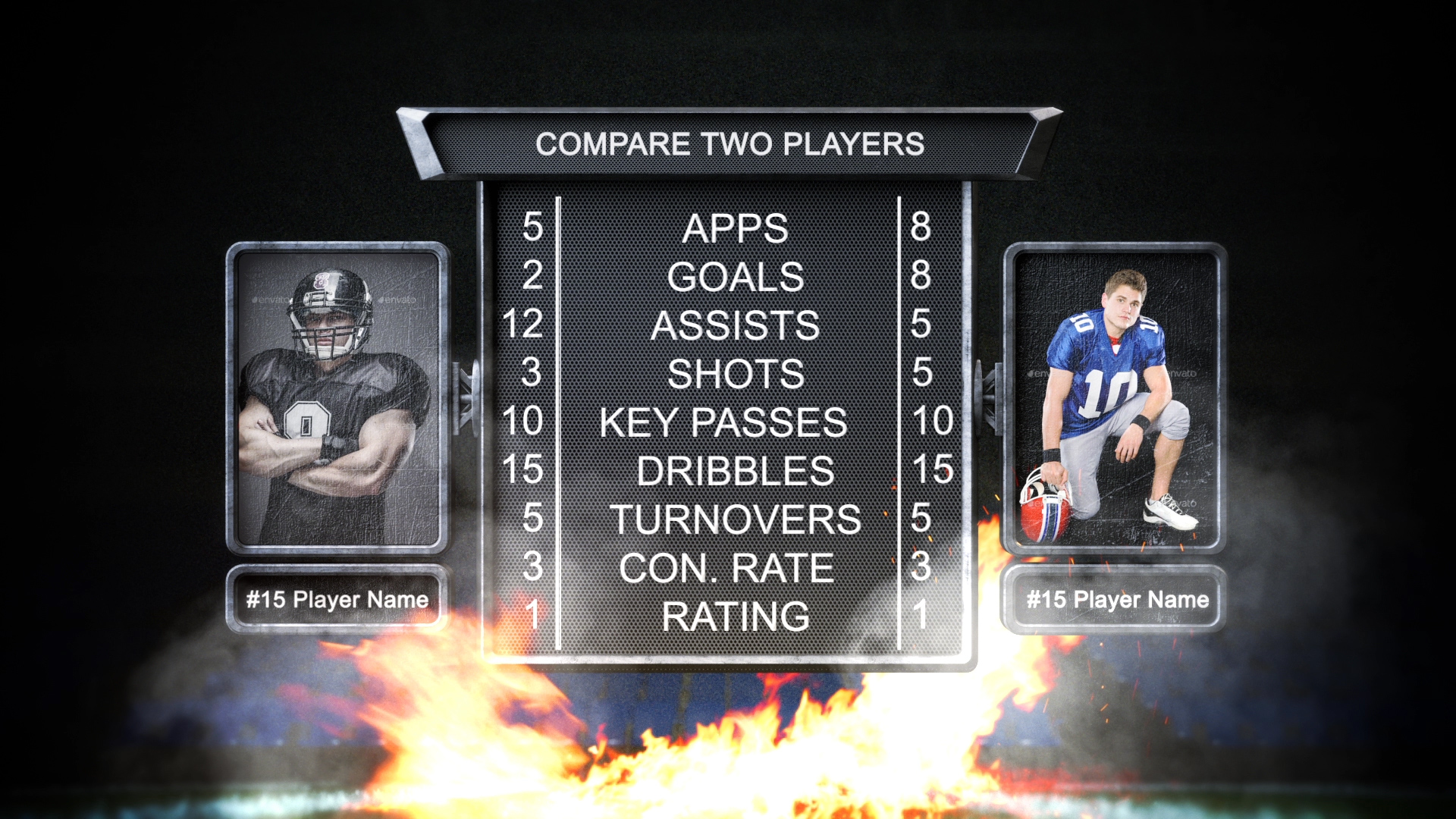 Football template, Football Intro, Football AE project, Free, American football intro, American football, football, US, United states, Canada, gridiron football,Defensive unit, Offensive unit, quarterback, Scoring, Field and equipment, Advancing, the, ball, and downs, NFL,  National Football League,  National Collegiate Athletic Association, NCAA, football league, League, College football, professional football,  Division I,  Division II,  Division III, Division, championship, Super Bowl, The NFL championship game,  European Football League, EFL,  Eurobowl, EFAF Cup, Cup, Students, American football, Tom Brady, Peyton Manning, New England Patriots, Peyton Manning, Denver Broncos, Aaron Rodgers, Green Bay Packers, Drew Brees, Football, American Football, Madden, Rugby, Football Intro, American Football Intro, NFL, Draft, NFL Football, Superbowl, Super Bowl, super bowl, National Football League,  American Football League, Energetic, fun, dynamic logo reveal, broadcast, bumper, champions league, New Orleans Saints, J. J. Watt, Houston Texans, Adrian Peterson, New Orleans Saints, Cam Newton, Carolina Panthers, Joe Montana, Kansas City Chiefs, Ben Roethlisberger, Pittsburgh Steelers,broadcast, bumper, champions league, countdown, cup, football, promo, sports, top ten, transition