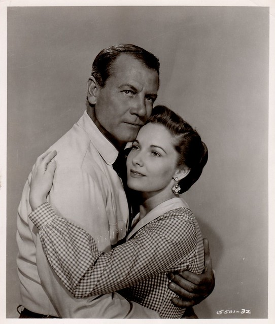 Wichita - Promo Photo 1 - Joel McCrea & Vera Miles