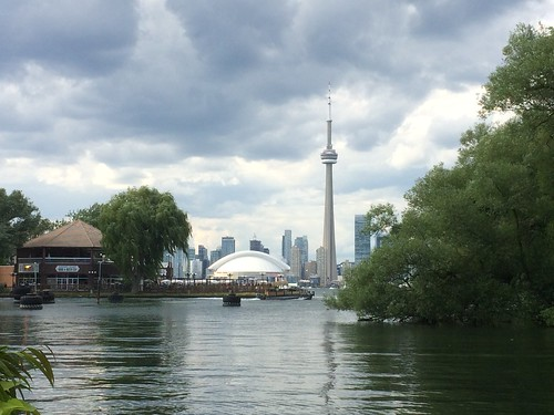 View of Toronto from Centre Island