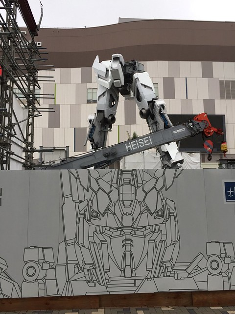 Gundam Unicorn Real Life Size