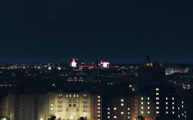 야간의 도시 스카이 라인 - PS4