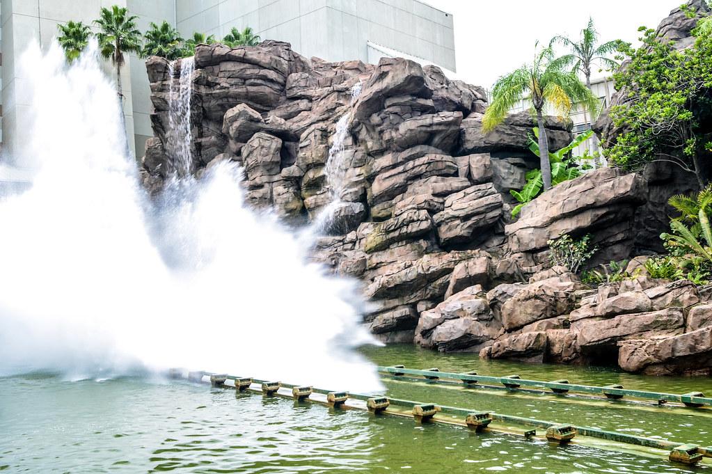 Jurassic Park splash IoA