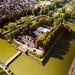Schloss Bad Pyrmont mit Wassergraben by wuestenigel