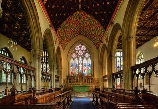 All Saints Church, Oakham, Rutland - interior