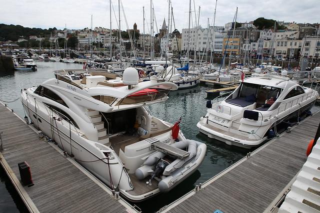 Guernsey marina