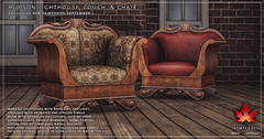 Trompe Loeil - Hudson Chair for FaMESHed September