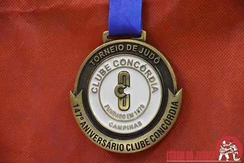 Torneio de Judô 147° Aniversário do Clube Concórdia - Campinas-SP