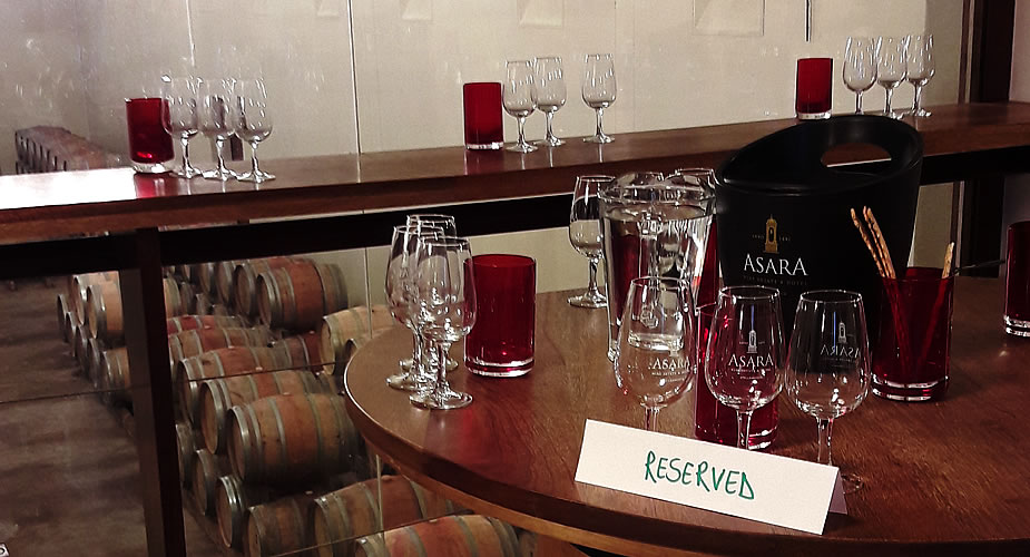 Wijn proeven in Stellenbosch, Asara Wine Estate | Mooistestedentrips.nl