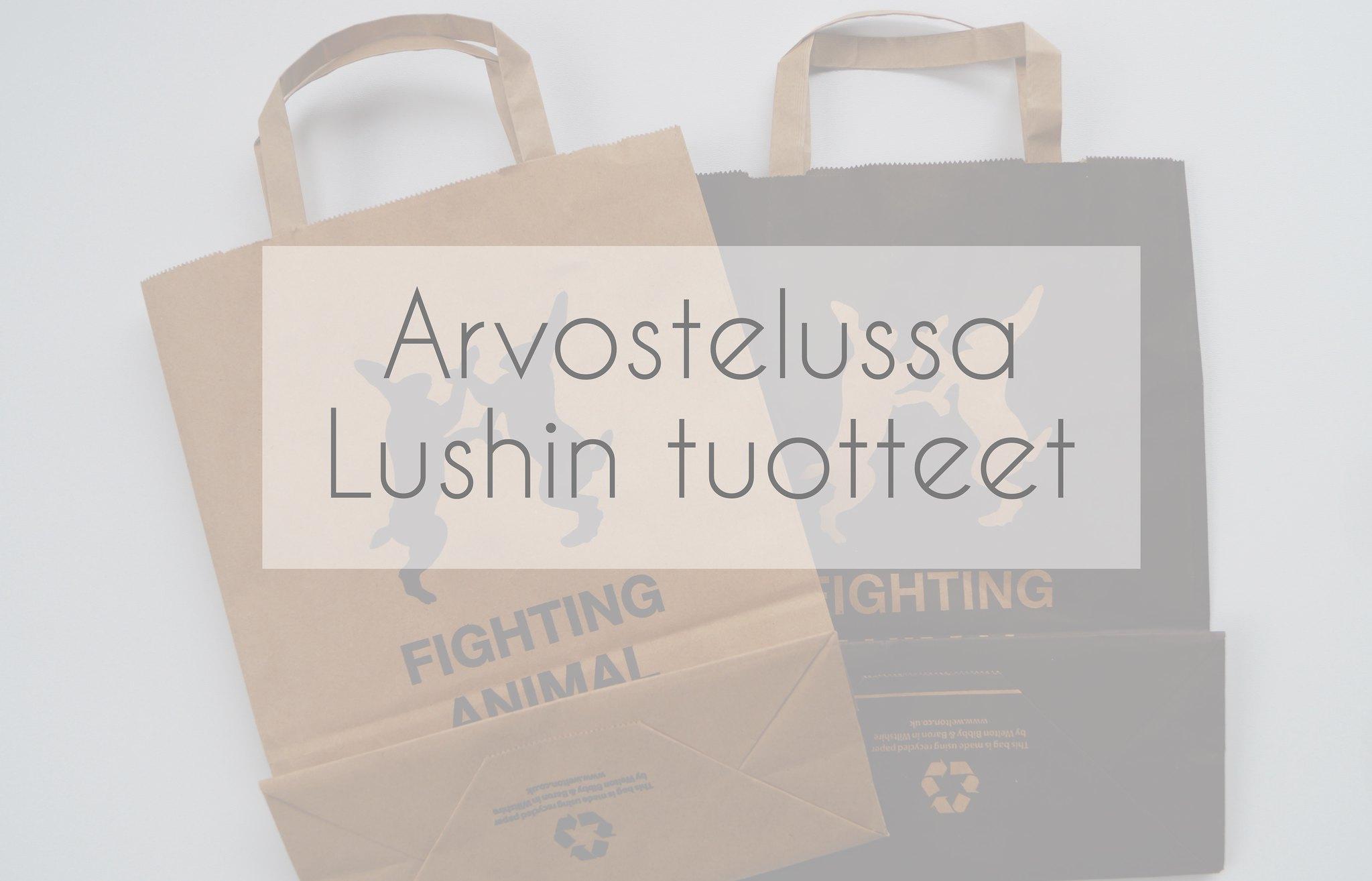Arvostelussa Lushin tuotteet x5