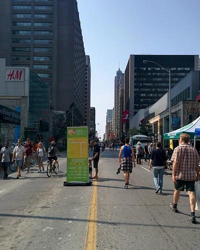 Open Streets (2) #toronto #yongeandbloor #yongestreet #openstreetsto