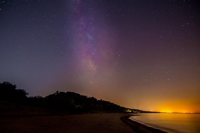 galaxy on the beach