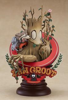 MARVEL Manga Variant《星際異攻隊》「I AM GROOT!插畫家Superlog版本」上色完成品!マンガヴァリアント グルート Superlog ver.