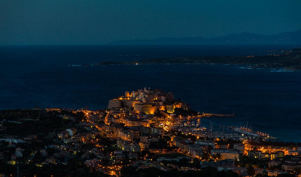 Calvi by night