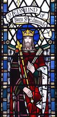 St Edmund of Bury St Edmunds (Joseph Nuttgens, 1946)
